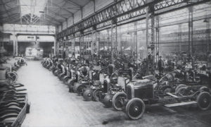 The Automotive Industry Circa 1918